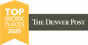 The Denver Post 2020 Top Workplaces Badge